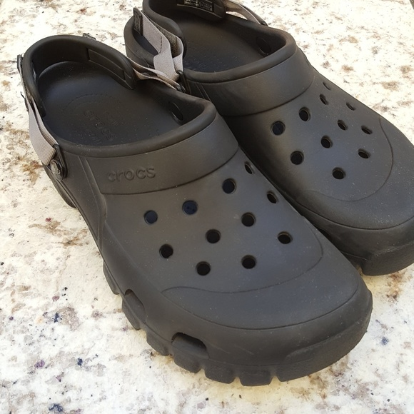 e75fca6041c1 CROCS Other - CROCS Offroad Sport Clog Black Graphite as 13 EUC